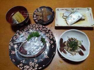太刀魚料理の写真・画像素材[4919689]