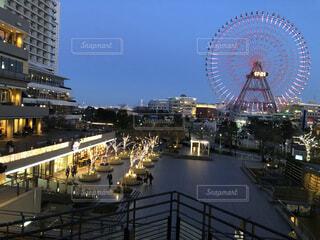 都会の夜景の写真・画像素材[4768876]