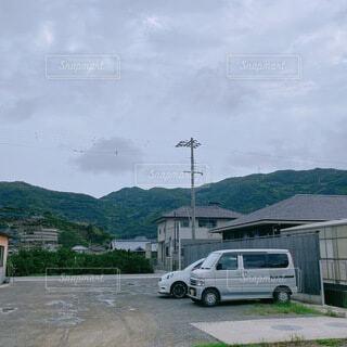 ドライブ中に見た田舎町の写真・画像素材[4769313]