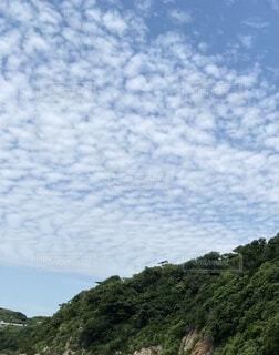 島の雲の写真・画像素材[4782980]
