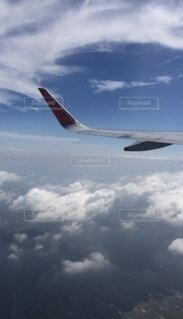 飛行機の中からの写真・画像素材[4790693]