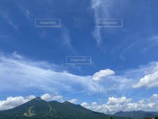 空の雲の群の写真・画像素材[4769576]