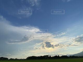 空の雲の群の写真・画像素材[4769578]