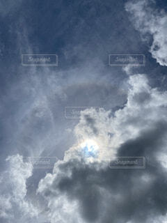 空の雲の写真・画像素材[4769595]