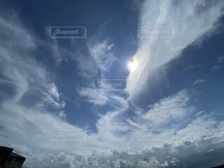 空の雲の群の写真・画像素材[4769596]