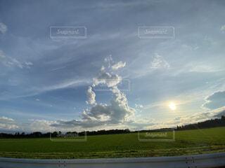 空の雲の写真・画像素材[4769599]