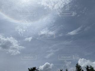 空の雲の群の写真・画像素材[4769603]