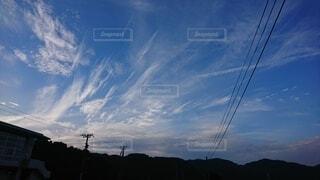 陽が沈んですぐの空の写真・画像素材[4769537]