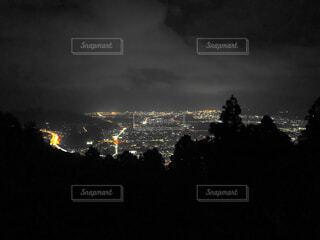 幻想的な夜景の写真・画像素材[4770042]