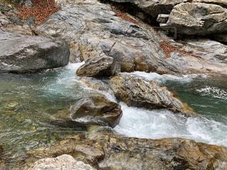 水の先での写真・画像素材[4770055]