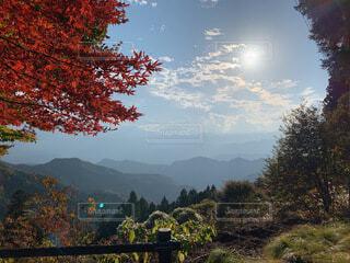 あの山の先での写真・画像素材[4770060]