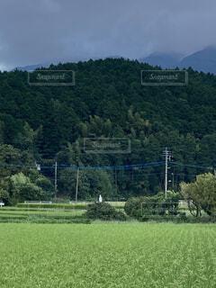 田舎の景色の写真・画像素材[4770297]