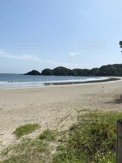 春先の弓ヶ浜の写真・画像素材[4770202]