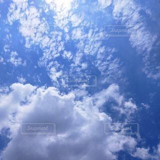 晴れた日の空の写真・画像素材[4773157]