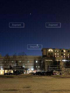 夜の都市の写真・画像素材[4770966]