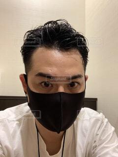 マスクで撮ると・・・の写真・画像素材[4771107]