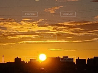 日の出の写真・画像素材[4771475]