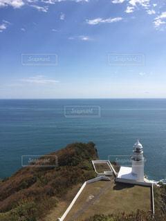 岬の灯台の写真・画像素材[762473]