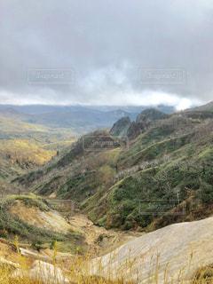 峠からの風景の写真・画像素材[1533872]