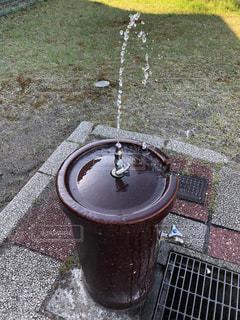 使われない水飲み場の写真・画像素材[2071826]