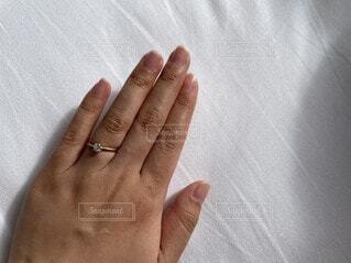 婚約指輪の写真・画像素材[4771537]