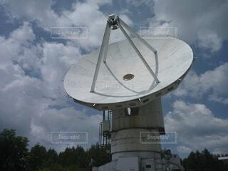大型アンテナの写真・画像素材[4774824]