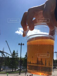 夏のビールの写真・画像素材[220445]
