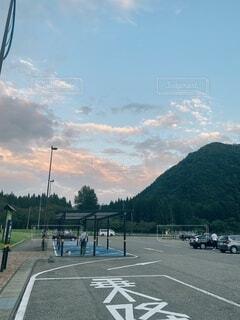 秋田のある道の駅の写真・画像素材[4841987]