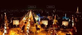 凱旋門からの眺め(横広)の写真・画像素材[4795941]