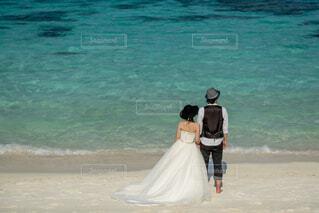 モルディブでの結婚式の写真・画像素材[4864819]