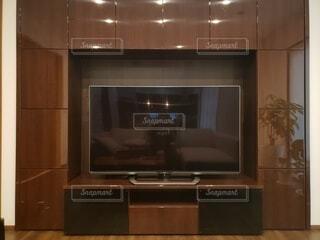 収納が多いテレビボードの写真・画像素材[4875488]