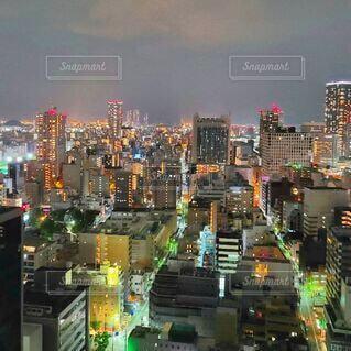 都会の夜景の写真・画像素材[4805893]