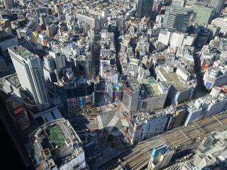高い位置から見た都会の風景の写真・画像素材[4808428]