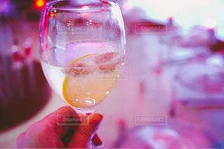 ワインのガラスの写真・画像素材[715695]
