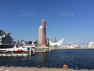 神戸の海際の写真・画像素材[215580]