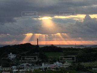 天使のはしごの写真・画像素材[321136]