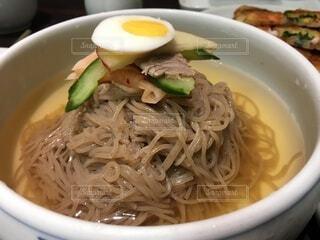 韓国料理 冷麺の写真・画像素材[4801835]