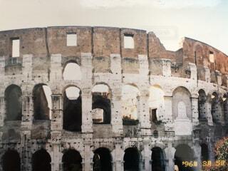 建物の上にある城の写真・画像素材[4815102]