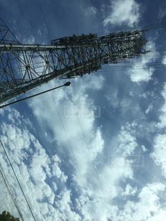 空と鉄塔の写真・画像素材[1005469]