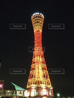 神戸ポートタワーの写真・画像素材[1007712]