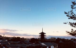 京都の街並みの写真・画像素材[1007716]