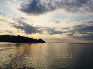 瀬戸内海の夕暮れの写真・画像素材[2819560]
