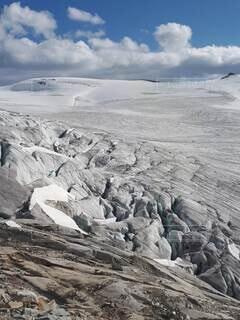 氷原の入り口の写真・画像素材[4825146]