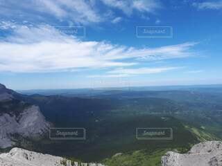 山頂からの眺めの写真・画像素材[4825176]