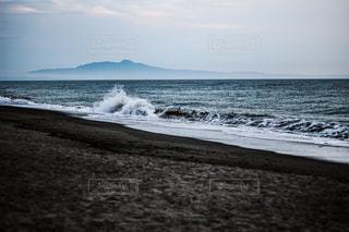 寒風山と釜谷浜の写真・画像素材[2610304]