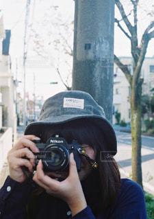 カメラを持って女性 - No.891300