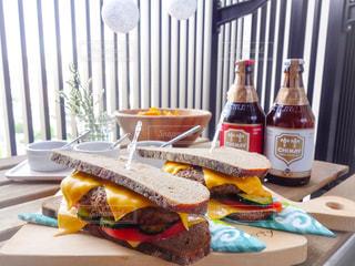 ハンバーガーの写真・画像素材[300138]
