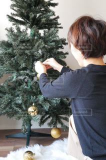 クリスマスツリーの写真・画像素材[857181]