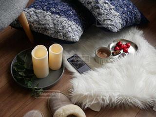 テーブルの上のコーヒー カップ - No.984578