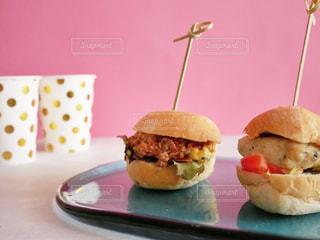 ミニハンバーガーの写真・画像素材[1055380]